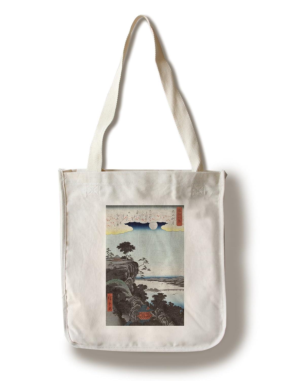 速くおよび自由な 秋Moon At Ishiyama Ishiyama Japanese木材カット印刷 Canvas Cotton Towel Cotton LANT-21616-TL B018412DK6 Canvas Tote Bag Canvas Tote Bag, VOLUME:65f57100 --- catconnects-ie.access.secure-ssl-servers.org
