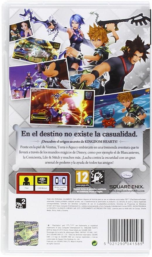 Kingdom Hearts: Birth by Sleep: Amazon.es: Videojuegos