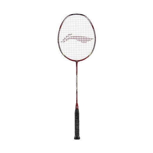 Li-Ning RZ-95 S-Type Razor Series Badminton Racquet (Red) Badminton Racquets at amazon