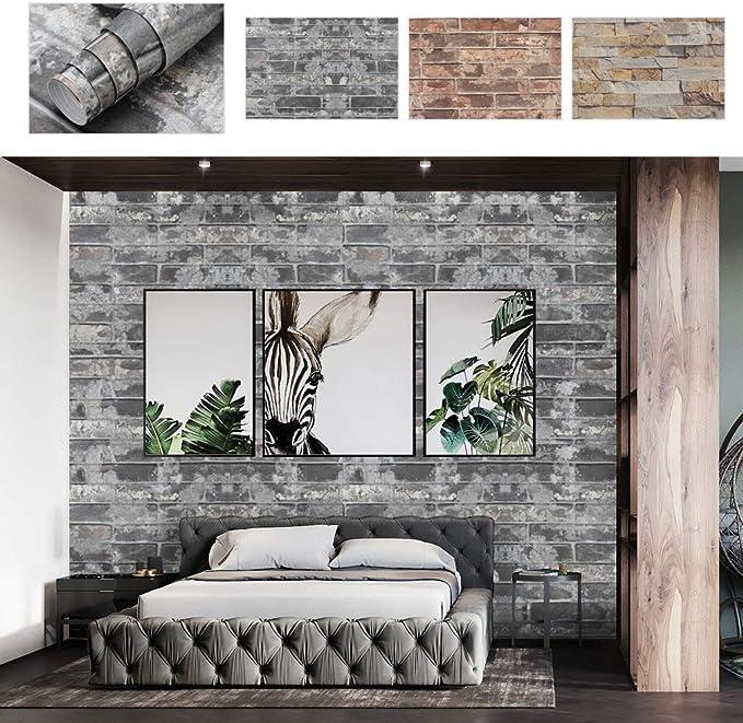 5M Selbstklebende Tapete Aufkleber Wand Sockelleiste Grenze Metallisch Glänzend