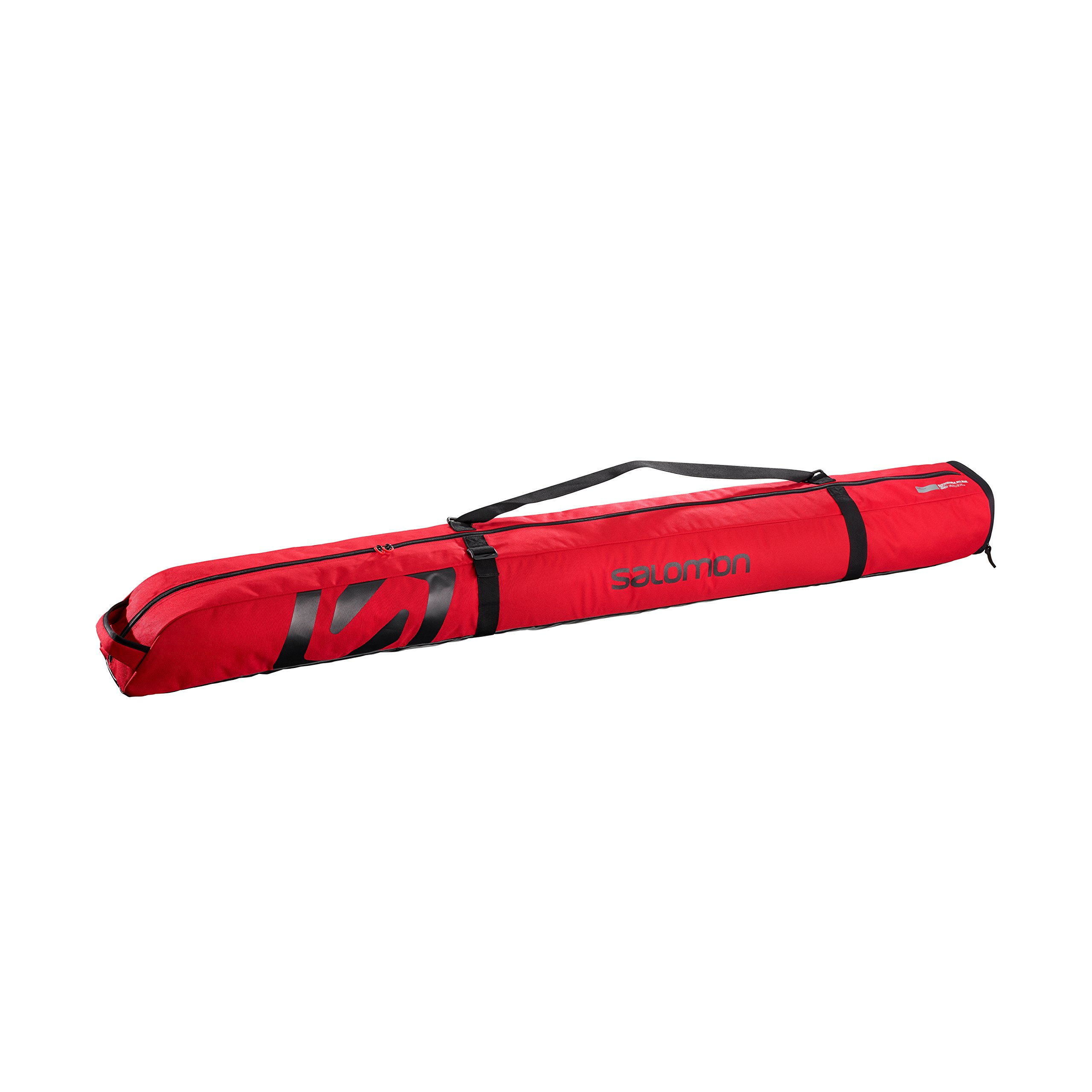 Salomon Extend 1P Pad 165+20 Ski Bag, Barbados Cherry/Black