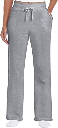 Gildan Womens Open Bottom Sweatpants Sweatpants