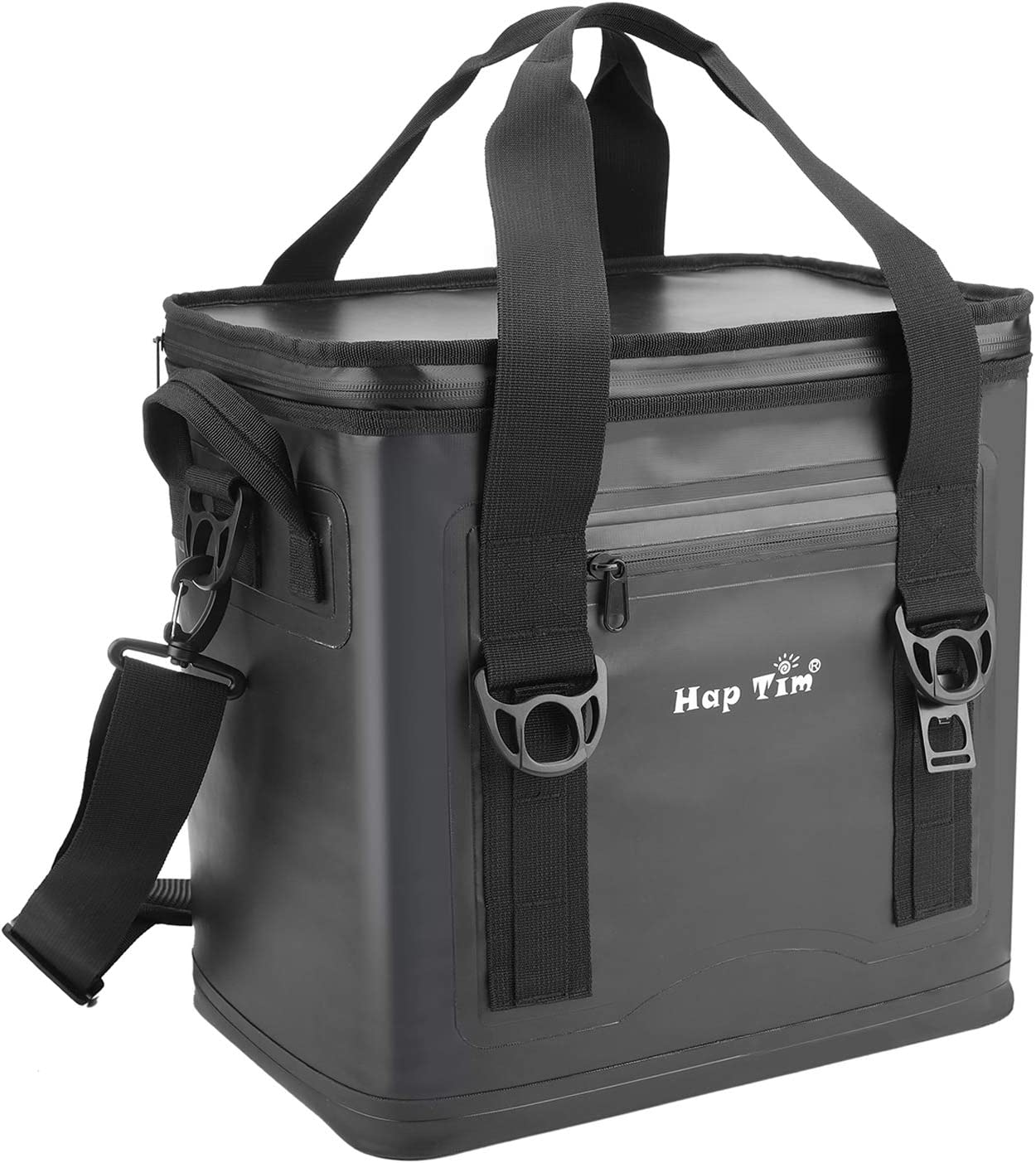 Hap Tim Cooler Bag 30 Cans Leak-Proof Soft Cooler, Portable Ice Cooler for Beach, Hiking, Camping, Picnic, Party, Sports, Sea Fishing TL52005-DG
