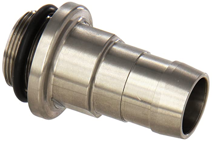 """Welch Vacuum 1393K Hose Adapter, 13/16"""" ID, for use with Pump Models 1402, 1405, and 1376"""