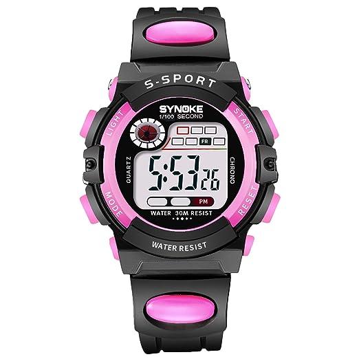 HWCOO Relojes De Pulsera Mujer Hombre Reloj Deportivo Reloj Militar Reloj de Vestir Reloj Smart Reloj