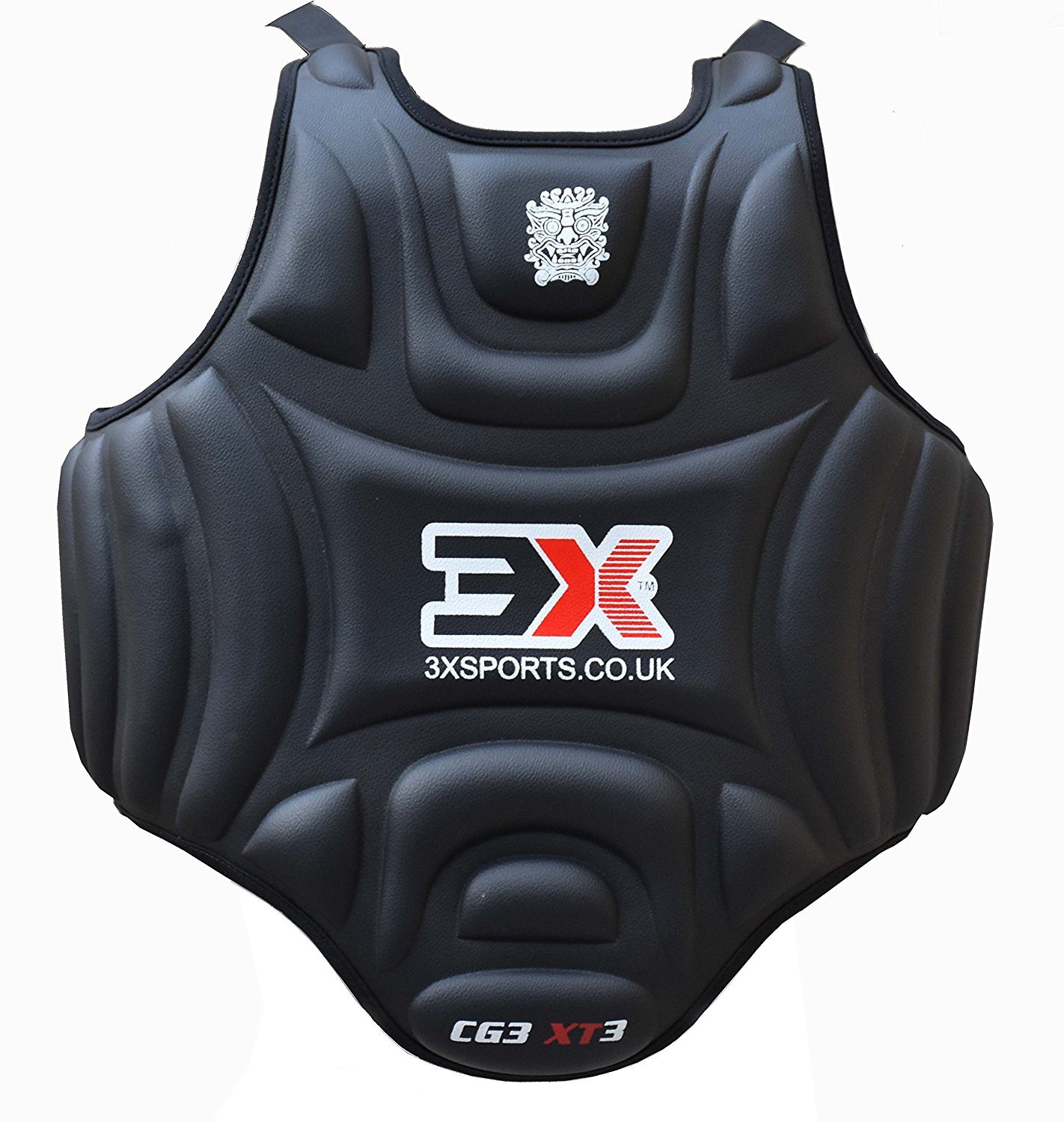 3XSports Pro Karate Körperschutz Körperschutzweste Taekwondo Chest Guard Body Protector MMA Armour Muay Thai Kick Boxen 3x Professional Choice
