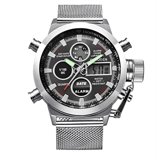Reloj de pulsera de cuarzo, Relojes De Moda Hombre 2018, Reloj Edición Limitada, Reloj de negocios para hombres: Amazon.es: Relojes