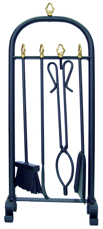 Imex el zorro 10076 - Confezione da 4 pezzi per camino (70 cm)