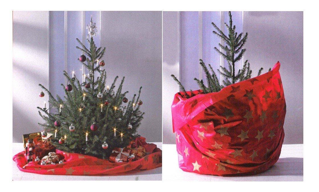 Weihnachtsbaum decke sack