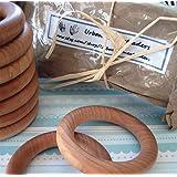 """Twenty Wood Maple Teething Ring (3"""") - Discounted Bulk Order"""