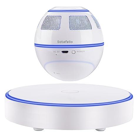 Review Levitating Bluetooth Speaker, Satefello