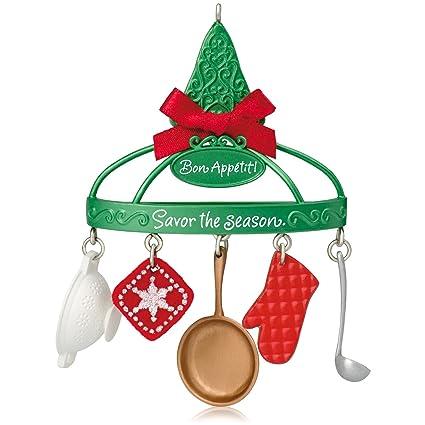 Hallmark Keepsake Ornament: Bon Apptit Cooking Utensils - Amazon.com: Hallmark Keepsake Ornament: Bon Apptit Cooking Utensils