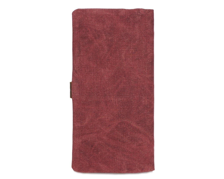 Color : Pink, Size : S XINXI-MAO Cozy Mens Purse Canvas Long Belt Retro Multifunctional Waterproof Wallet Fashion Clutch Backpack