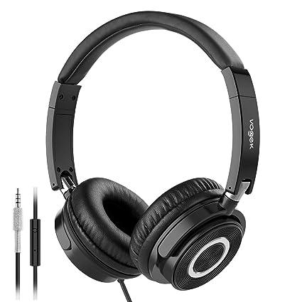 Amazon.com  On Ear Headphones with Mic 834f2701b6