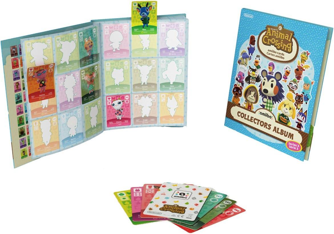 Nintendo - Pack De 3 Tarjetas amiibo Animal Crossing HHD + Álbum, Serie 3: Amazon.es: Videojuegos