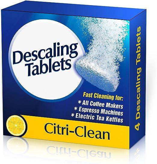 Cafetera eléctrica limpiador pastillas antical: Amazon.es: Hogar