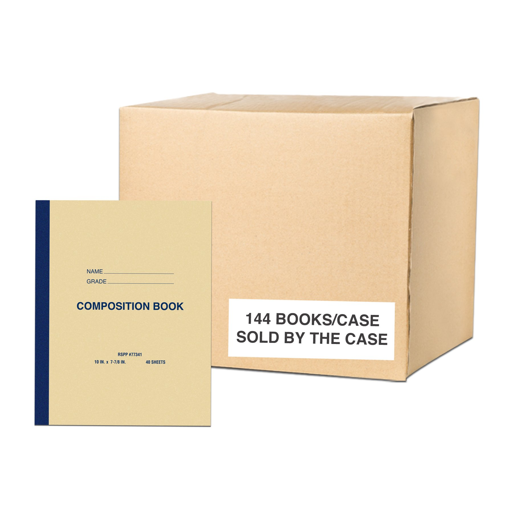Roaring Spring Paper Products Center Sewn Composition Notebook, 10 x 8 x 1/4 (77341cs)