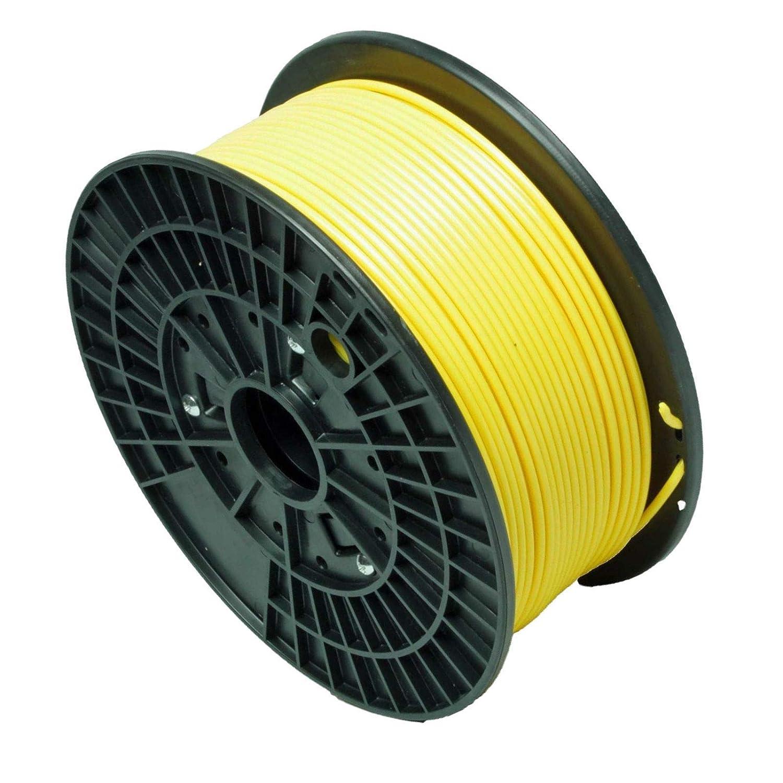 Abcs Printing-Gelb Filament PLA 1.75 mm 3D-Filament PLA,Bruttogewicht 1 kg Hohe Qualitä t und zuverlä ssiger 3D-Druck-Filament fü r 3D-Drucker und 3D 3D-Stift, besser als ABS-Filament