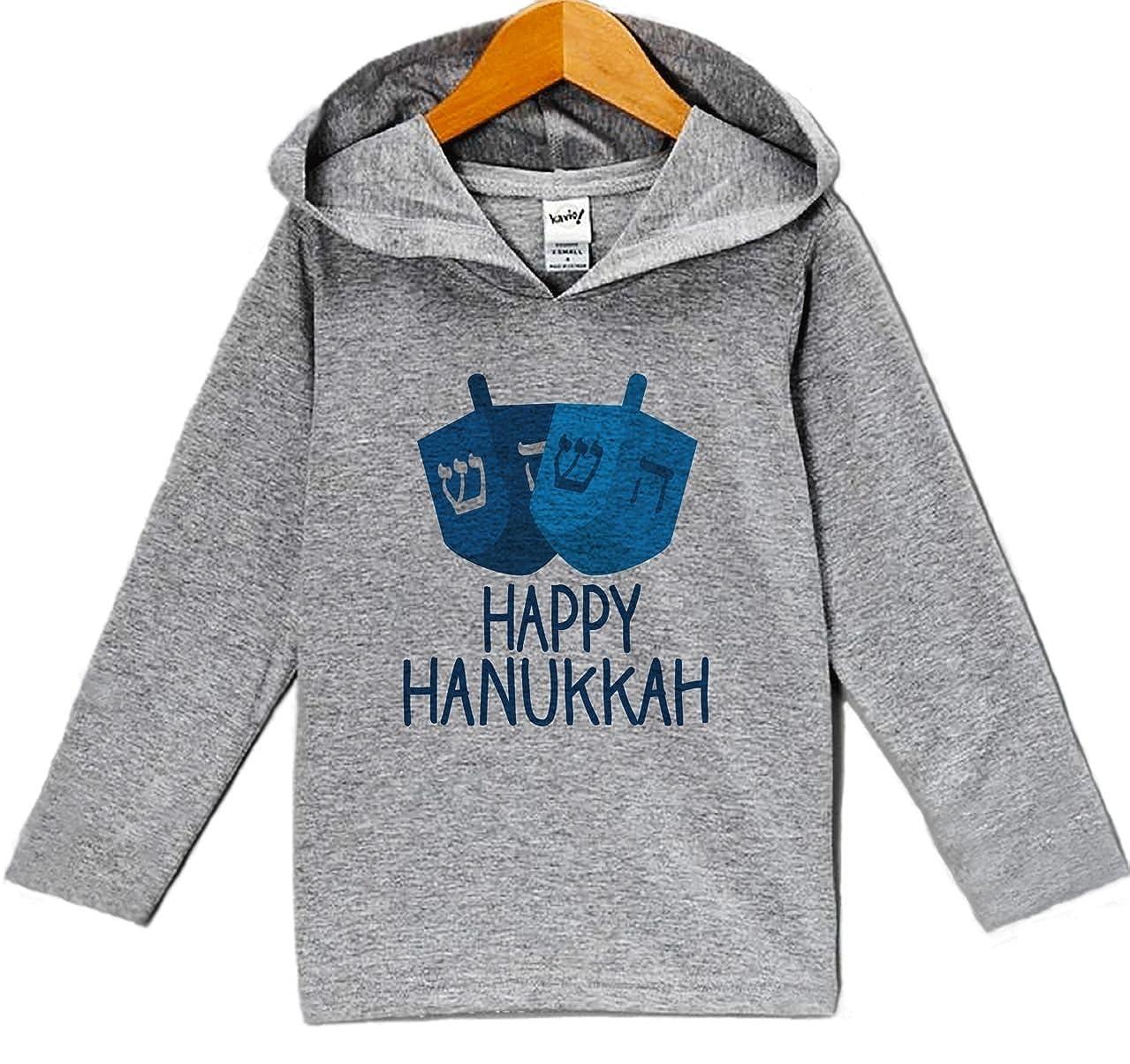 Custom Party Shop Babys Happy Hanukkah Hoodie Grey