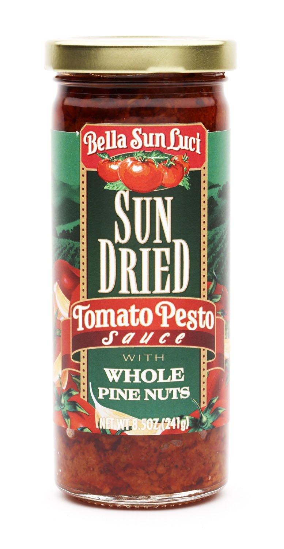 Amazon Com Bella Sun Luci Sun Dried Tomato Pesto Pasta Sauce Frozen Pastas Grocery Gourmet Food
