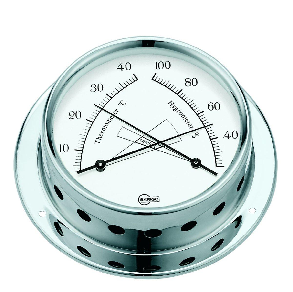 Barigo Termometro/Igrometro Tempo Cromo 983CR