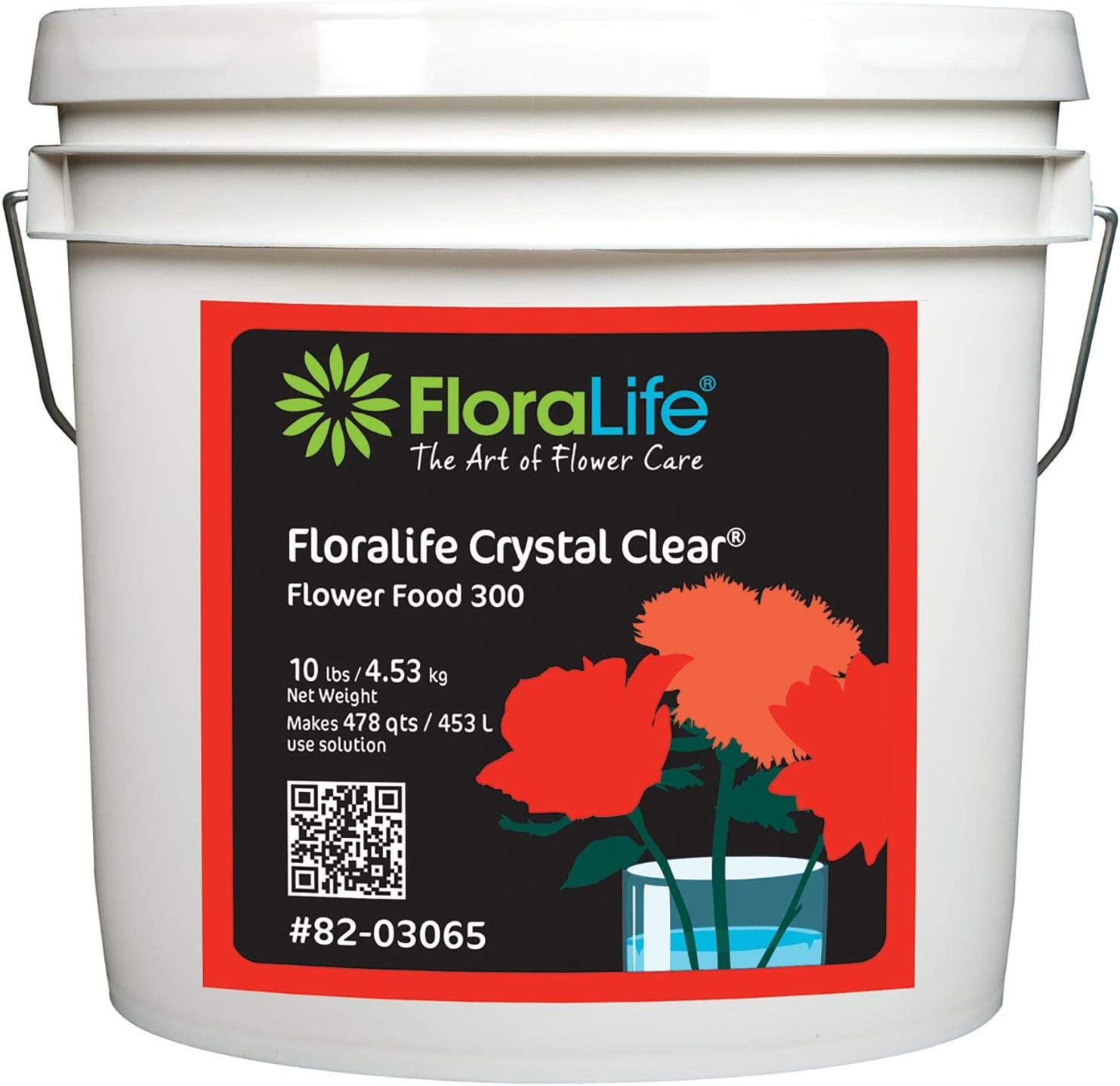 Floralife Crystal Clear Flower Food 300 Powder, 10 Lb.