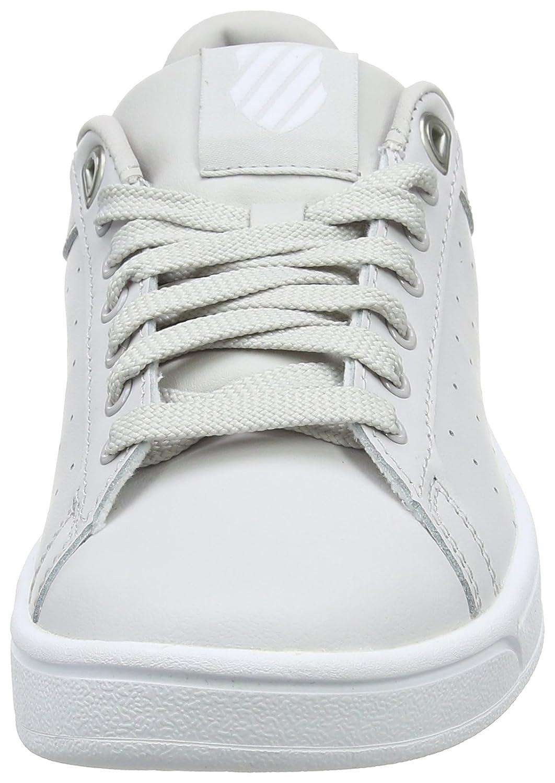 K-Swiss Women's Clean Court CMF Fashion Sneaker B01LXCB6DL 7.5 B(M) US|Wind Chime/White