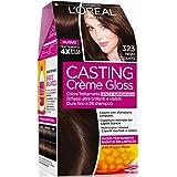 L'Oréal Paris Casting Crème Gloss Colore Trattamento senza Ammoniaca, 323 Nero Cioccolato
