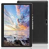 LNMBBS 3G Tablet de 10.1 Pulgadas HD (WiFi, 2 GB de RAM, 32GB de Memoria Interna, Quad-Core, Android 7.0), Color Negro