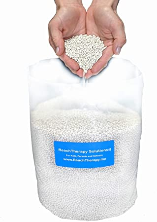 High Density Poly Pellets for Weighted Blankets Cornhole Shooting Bags /& Draft Stoppers ReachTherapy Solutions 10 lbs  