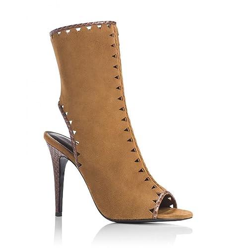 f7fa9c4ed66 Amazon.com | Tamara Mellon Sunkist Suede Booties Tan | Boots