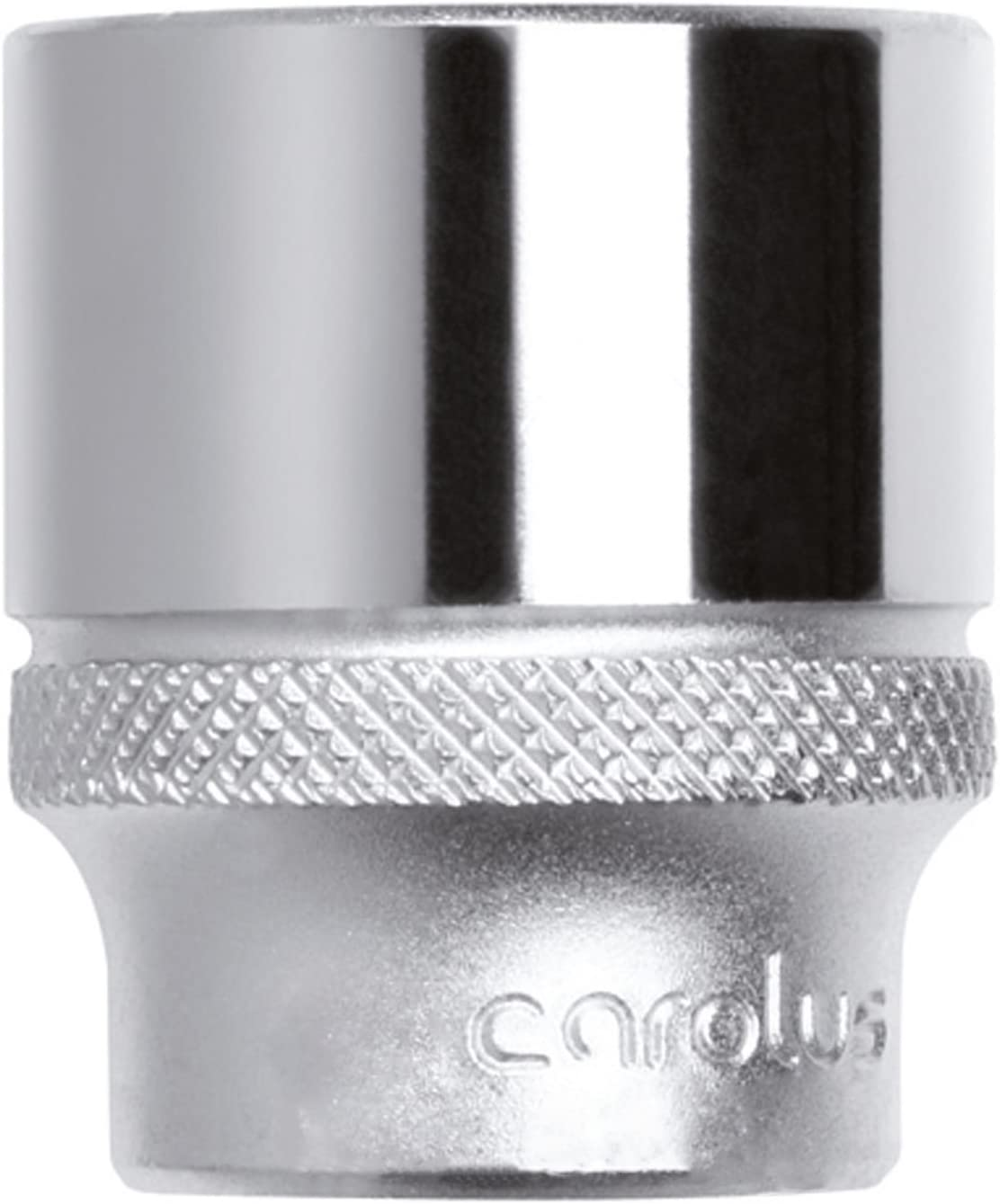 Carolus 6100.08 Llave de vaso 3//8 8 mm