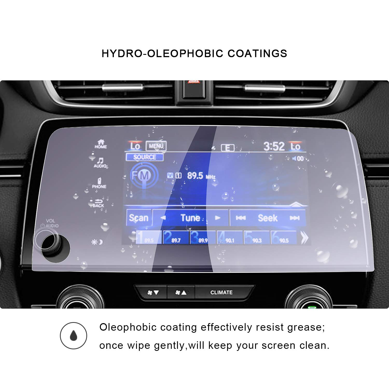 2017 2018 2019 CR-V Navi Navigation Screen Protector,Anti Blue Ray Anti Ultraviolet Tempered Glass Screen Protective Film