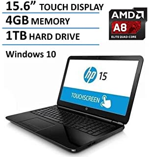 2016 HP 15.6-Inch Touchscreen Laptop, AMD Quad-Core A8-7410 Processor