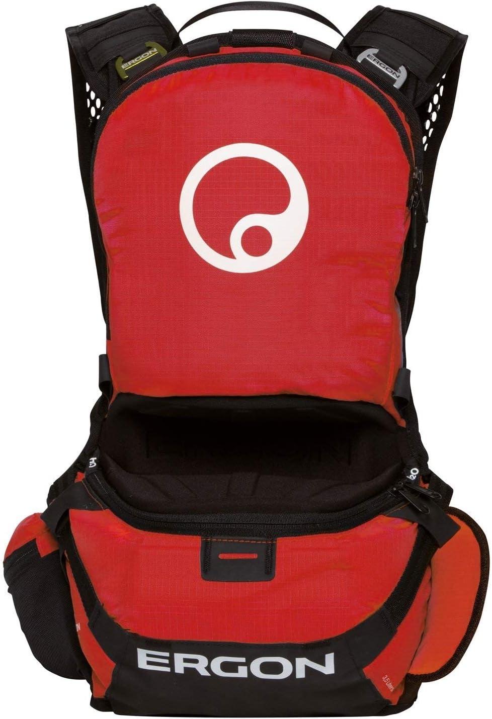 Ergon BE2 Enduro – Mochila para bicicleta negro rojo ergonómico para bicicleta de montaña fr DH FR Gravity, 4500029: Amazon.es: Deportes y aire libre