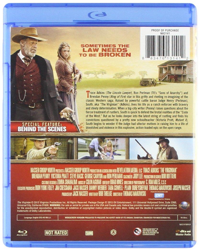 Virginian [Edizione: Stati Uniti] [Italia] [Blu-ray]: Amazon ...