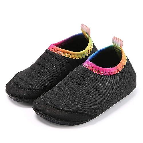 7cadb910b661 Ceyue Toddler Water Shoes Baby Girls Boys Barefoot Swim Shoes for Indoor  Outdoor Pool Beach Garden