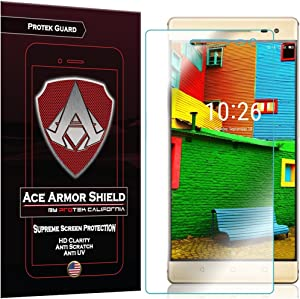 Ace Armor Shield Protek Guard Screen Protector for The Lenovo Phab 2 Pro with Free Lifetime Replacement Warranty