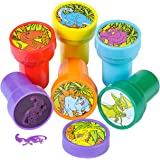 Fun Express Assorted Dinosaur Stampers - 24 Pieces