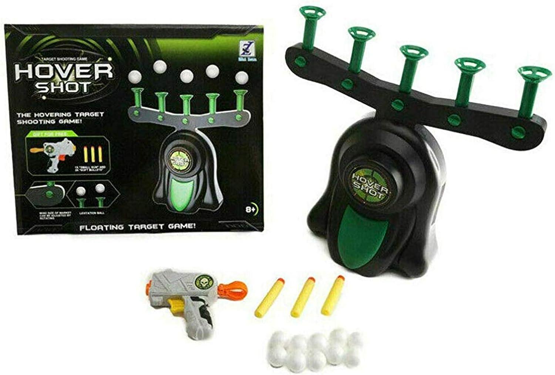 NEW Floating Target Airshot Game Foam Dart Blaster Gift Toy Shooting Kid Ba N7O0