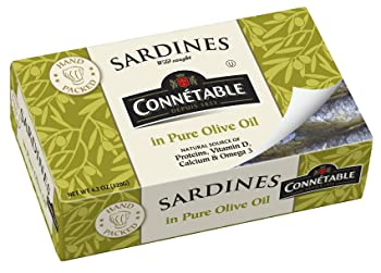 Connetable Sardines in Pure Olive Oil