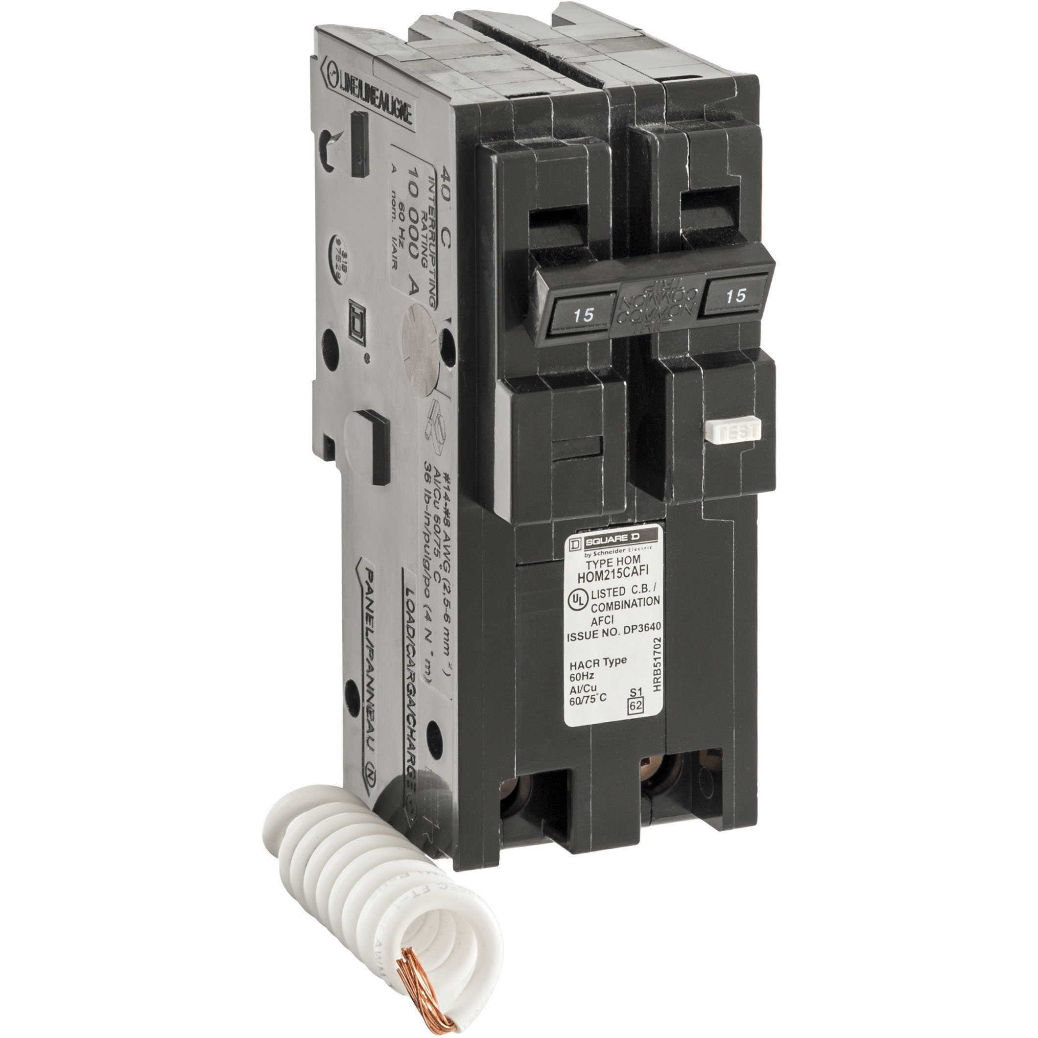 Square D by Schneider Electric HOM215CAFIC Homeline 15 Amp Two-Pole CAFCI Circuit Breaker, by Square D by Schneider Electric (Image #5)