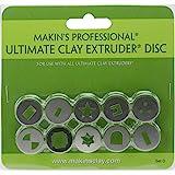 Makin's USA Makin's Professional Ultimate Clay Extruder Discs 10/Pkg-Set D
