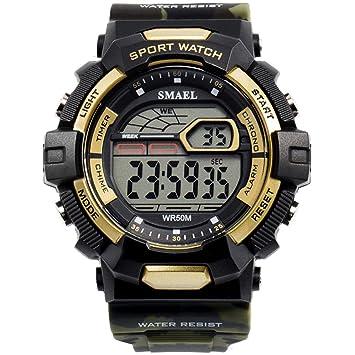 Blisfille Reloj Digital Adhesivo Relojes Personalizados Reloj Deporte para Mujer Reloj Hombre 60 Reloj Running Hombre: Amazon.es: Deportes y aire libre