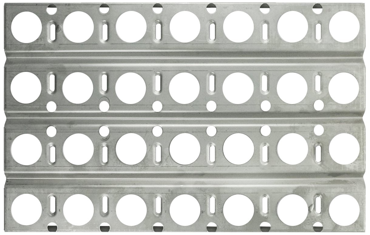 Music City Metals 92551 Stainless Steel Heat Plate Replacement for Gas Grill Model Dynasty DBQ30F by Music City Metals