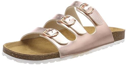 Lico Damen Bioline Jacki Pantoletten: : Schuhe