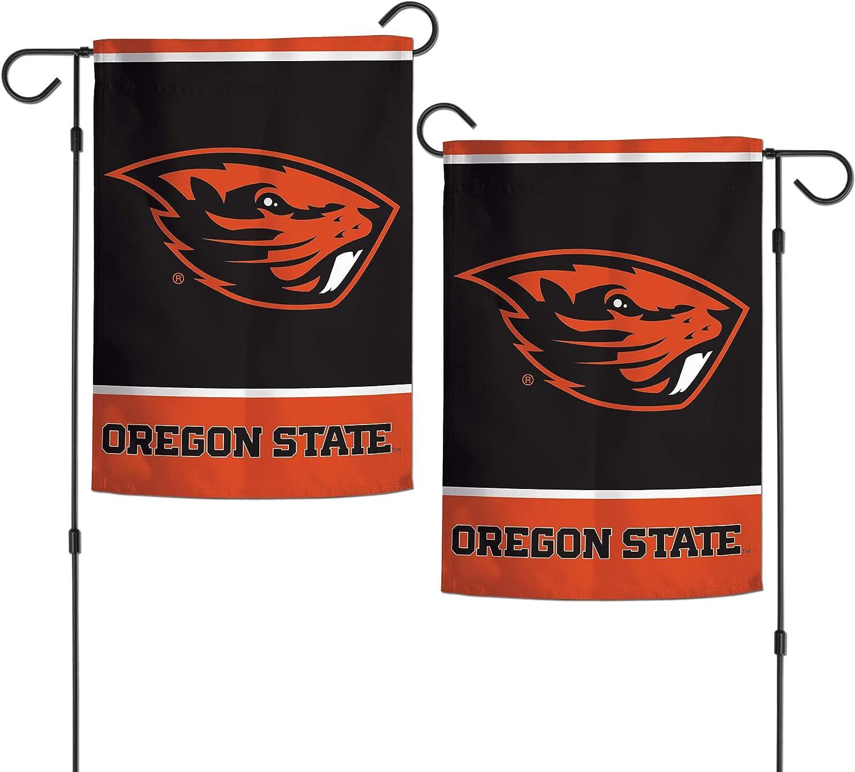 "WinCraft NCAA Oregon State Beavers 12.5"" x 18"" Inch 2-Sided Garden Flag Logo"