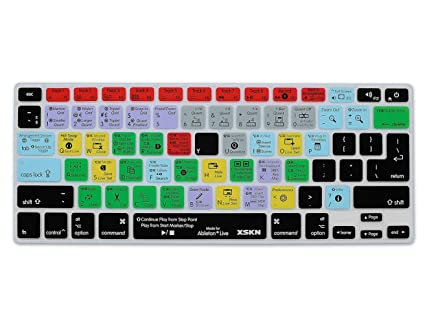 huge selection of 1377a d718a XSKN Ableton Live Functional Shortcut Silicone Keyboard Skin Cover for  MacBook Air 13, Pro 13, 15, 17, Retina 13 15 and Wireless keyboard (not  suit ...