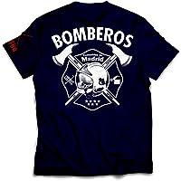 CrossFire Camiseta de Bombero de la Comunidad de Madrid de Hombre