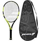 Babolat 2017 Pure Aero - STRUNG with COVER - Tennis Racquet